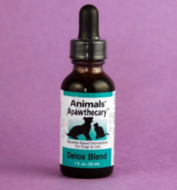 ANIMAL ESSENTIALS INC: Detox Allergy Blend Liquid for Dogs & Cats 4 oz