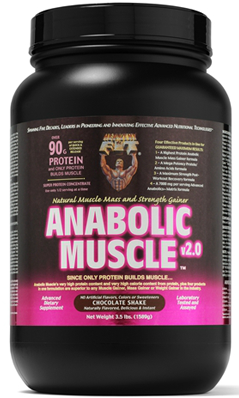 HEALTHY N FIT NUTRITIONALS: Anabolic Muscle Chocolate Powder 3.5 lb