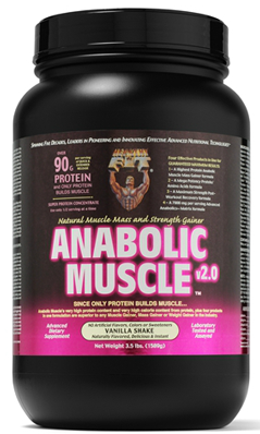 HEALTHY N FIT NUTRITIONALS: Anabolic Muscle Vanilla Powder 3.5 lb