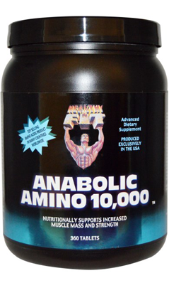 Anabolic Amino 10000 360 tab from HEALTHY N FIT NUTRITIONALS