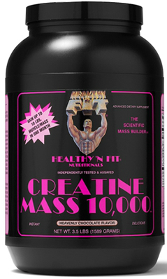 Creatine Mass 10000 Vanilla Powder 3.5 lb from HEALTHY N FIT NUTRITIONALS