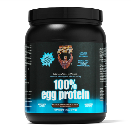100% Egg Protein Chocolate Powder 12 oz from HEALTHY N FIT NUTRITIONALS