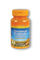Thompson Nutritional: Chromium Picolinate 200mcg 60ct 200mcg