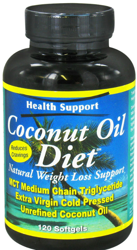 Coconut Oil Diet, 120 softgel
