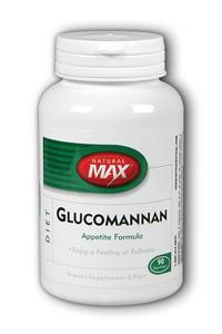 NaturalMax: Glucomannan 90ct 2000mg