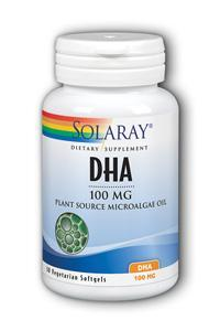 Solaray: DHA Neuromins 30ct 100mg