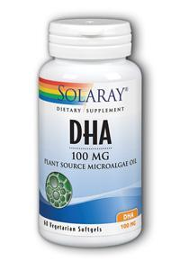 Solaray: DHA Neuromins 60ct 100mg