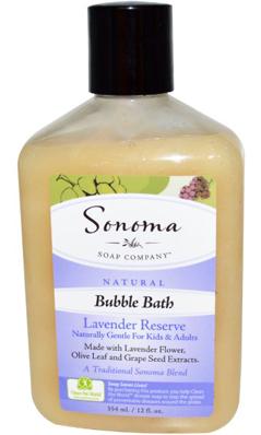 SONOMA SOAP COMPANY: Sonoma Soaps Bubble Bath-Lavender Reserve 12 oz