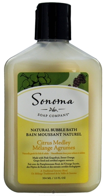 SONOMA SOAP COMPANY: Sonoma Soaps Bubble Bath-Citrus Medley 12 oz