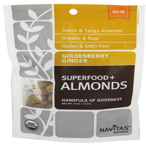 Goldenberry Ginger Almonds