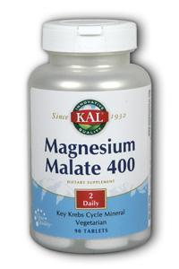 KAL: Magnesium Malate 400 90ct 400mg