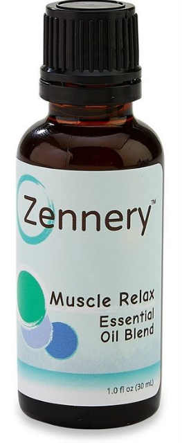 ZENNERY: Org. Muscle Relax Essen. Oil Blend 1 OZ