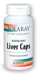 Solaray: Liver Caps 60ct 1500mg