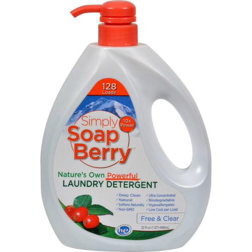 Simply Soapberry Laundry Detergent