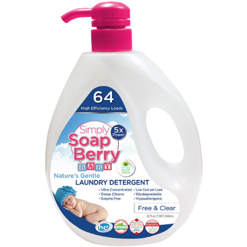 Simply Soapberry Baby Laundry Detergent 64 Load