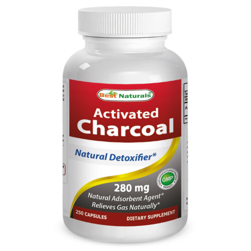 Best Naturals: Activated Charcoal 280 mg 250 cap
