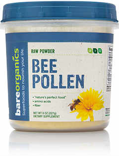 Organic Bee Pollen Powder, 8 oz