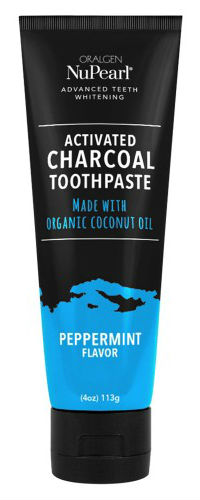 ORALGEN: Peppermint Charcoal Toothpaste 4 OZ