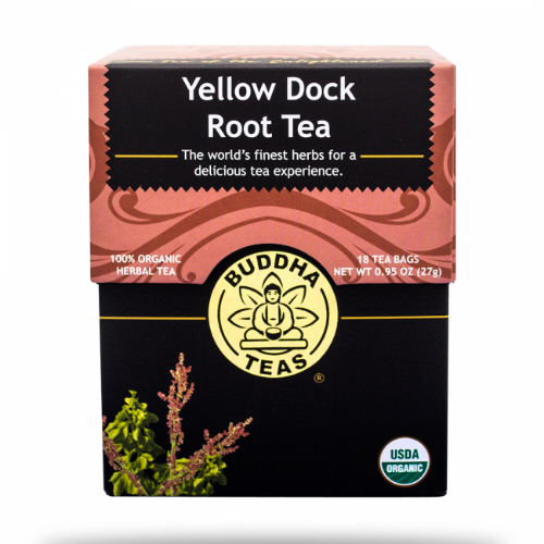 Buddha Teas: Yellow Dock Root Tea 18 bag
