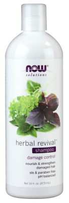 NOW: Herbal Revival Shampoo 16 fl oz