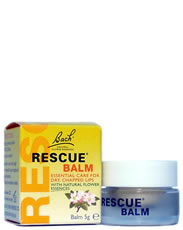 BACH FLOWER ESSENCES: RESCUE BALM LIP BALM 5G