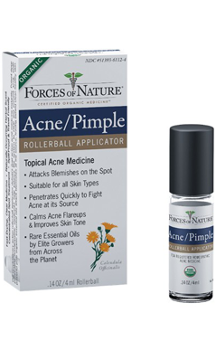 FORCES OF NATURE: Acne/Pimple Control Roller Ball Applicator 4 ml