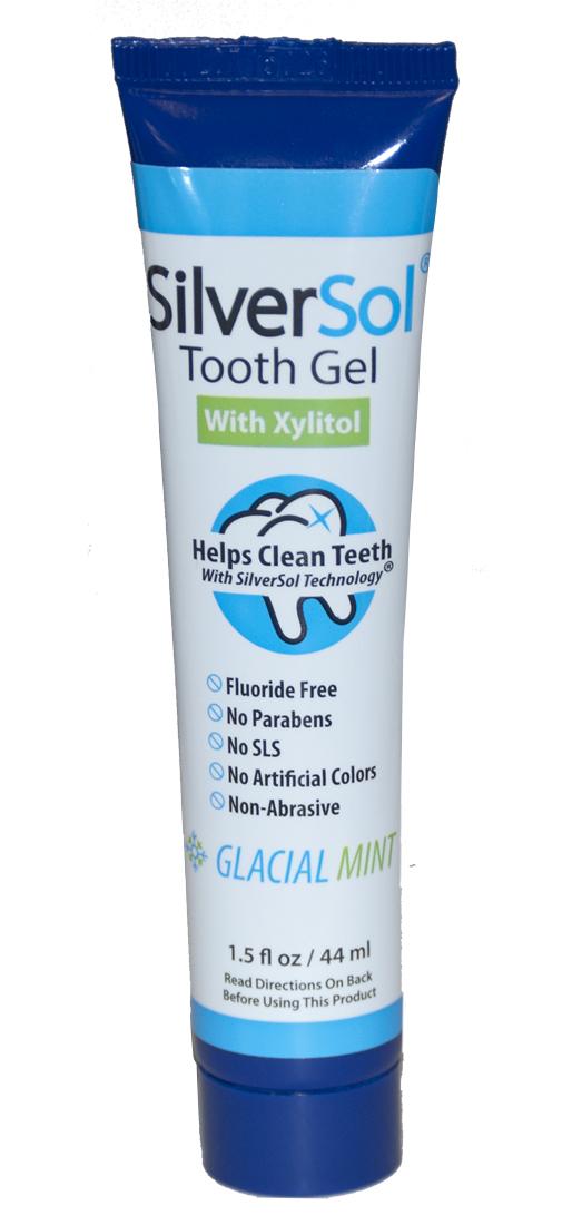 Silversol Tooth Gel 4 Oz 9 35ea From Silver Biotics