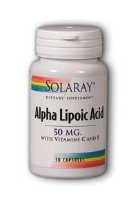 Solaray: Alpha Lipoic Acid 30ct 50mg