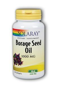 Borage Seed Oil GLA, 50ct 240mg