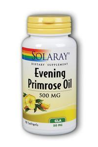 Solaray: Evening Primrose Oil - High Potency 90ct 500mg