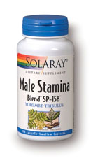Solaray: Male Stamina SP-15B 100ct 500mg