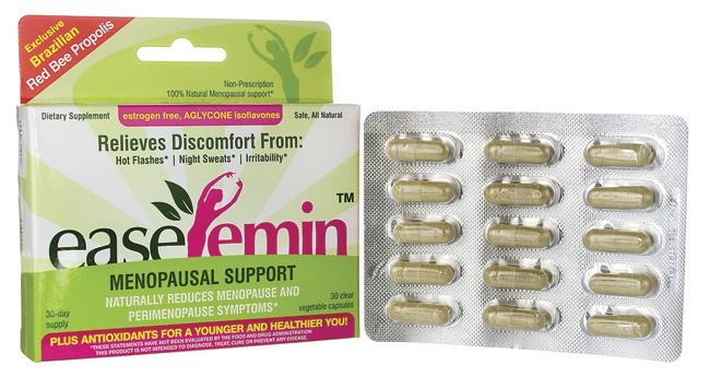 NATURANECTAR: EaseFemin Menopausal Support 30 CAPS