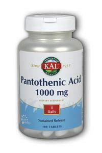 Kal: Pan acid-1000 sr 100ct 1000mg