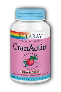 Solaray: CranActin Cranberry AF Extract 120ct