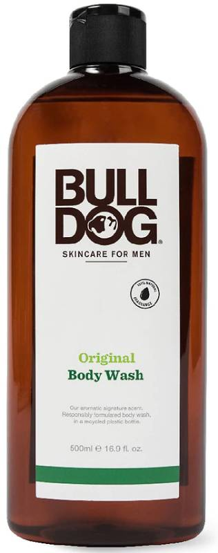BULLDOG NATURAL SKINCARE: Body Wash Original 16.9 OUNCE