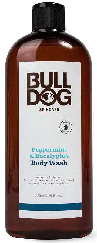 BULLDOG NATURAL SKINCARE: Body Wash Peppermint & Eucalyptus 16.9 OUNCE