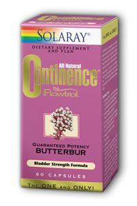 Solaray: Continence with Flowtrol 60ct