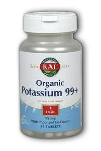 Kal: Potassium Organic Supplement 50ct 99mcg
