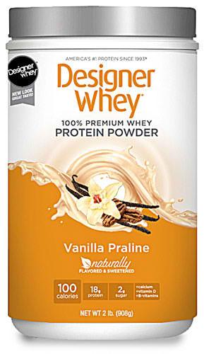 Designer Whey Protein Powder Vanilla Praline 2 Lbs 0
