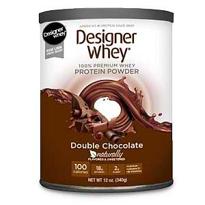 DESIGNER PROTEIN: Designer Whey Protein Powder Double Chocolate 12 oz