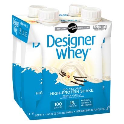 DESIGNER WHEY: Designer Whey Shake Vanilla 4 ct