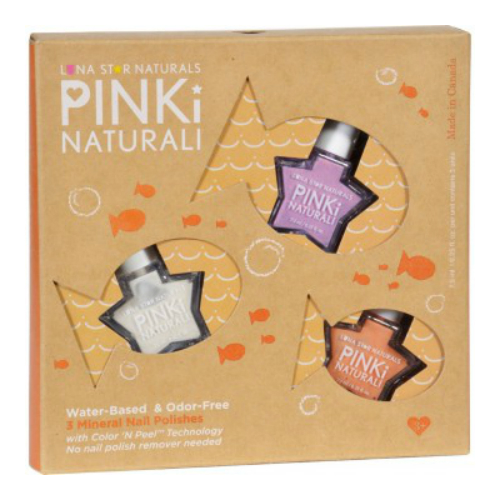 LUNA STAR NATURALS: Pinki Naturali Gift Set Crystal Lake Swims with Concord Montgomery& Juneau 3 pc