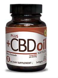 CBD Oil Softgels 5mg - Raw, 60 SFG