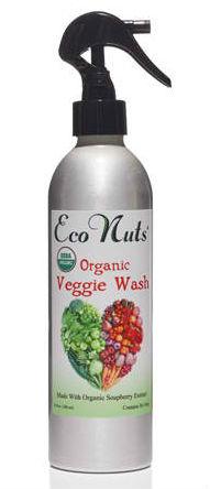 ECO NUTS: Cert. Organic Veggie Wash 10 oz