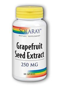 Solaray: Grapefruit Seed Extract 60ct 250mg