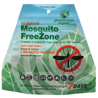 GREENERWAYS ORGANICS: Mosquito Free Zone Pouch 1 pouch