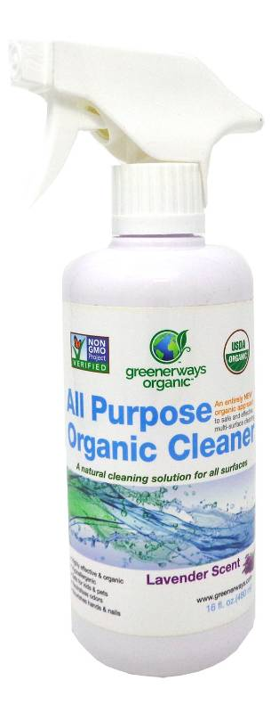 GREENERWAYS ORGANICS: Ecotizer All Purpose Cleaner Lavender 16 ounce