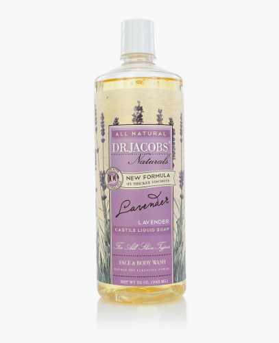 Natural Face & Body Wash Lavender