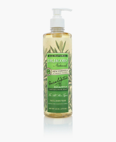 Natural Face & Body Wash Eucalyptus