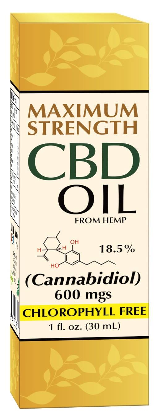 CBD Oil 600mg, 1 fl oz